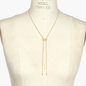 NWOT Madewell Looker Adjustable Bolo Necklace